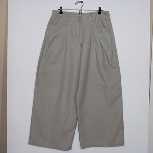 American Rag Tan Wide Legged Pants Size Large